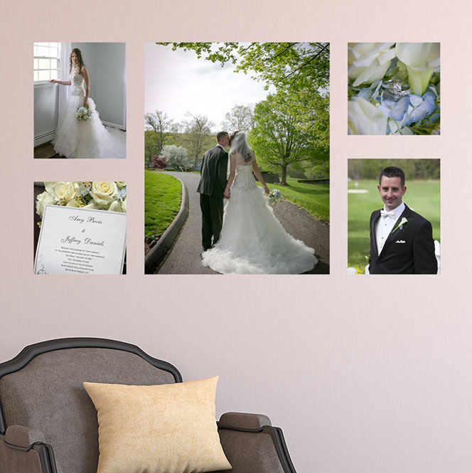 Perceptions Photography Wall portrait canvas gallery wrap, canvas cluster